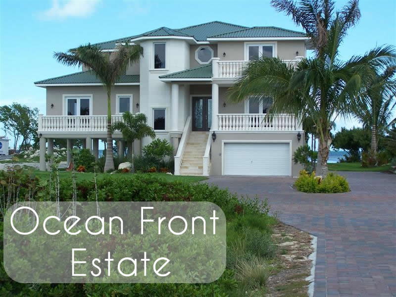 Dream Builders of the Florida Keys quality custom luxury homes - Ocean Front Estate