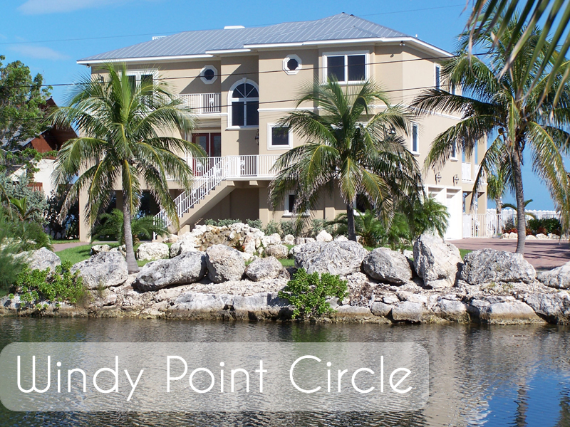 Dream Builders of the Florida Keys quality custom luxury homes - Windy Point Circle